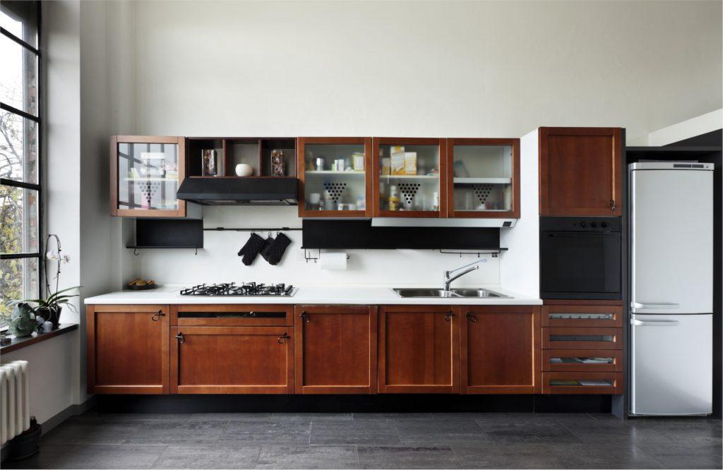 Swedish Door 5pc solid wood kitchen