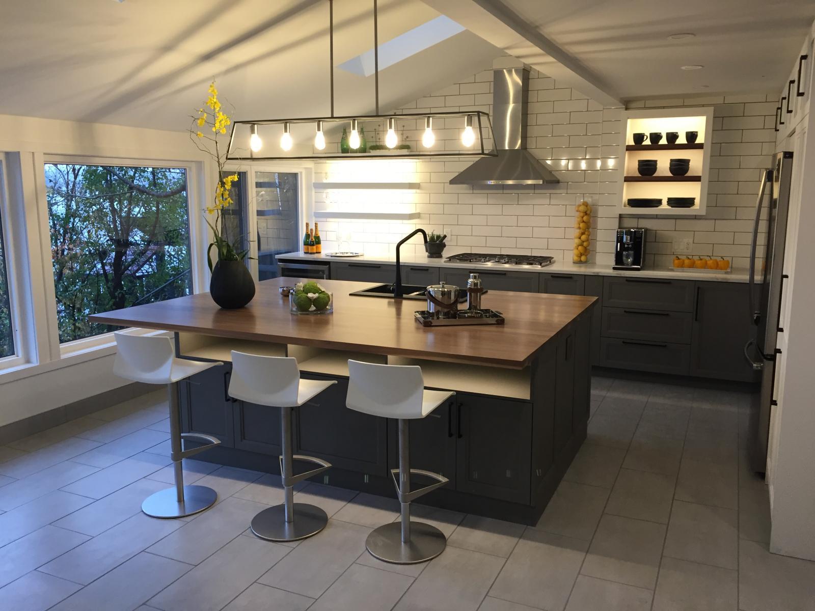 custom laminate kitchen cabinets