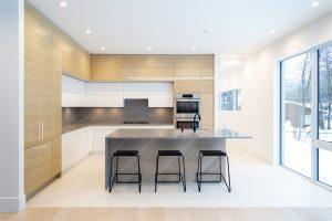 white oak ikea kitchen