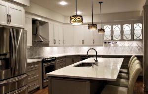 transitional kitchen renovation